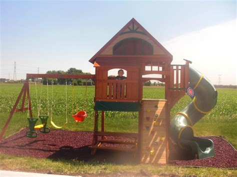 big backyard playground backyard playsets canada outdoor furniture design and ideas
