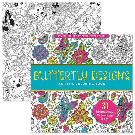 butterfly colors books butterfly coloring book for adults current catalog