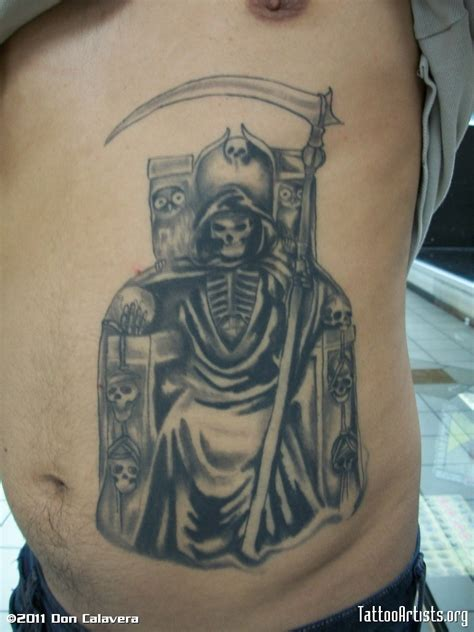 santa muerte tattoos designs santa muerte artists org