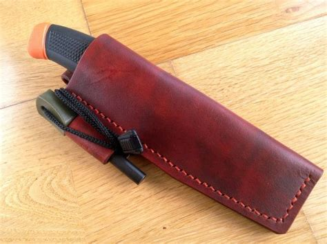 Handmade Knife Sheath - handmade leather knife sheath mod 1