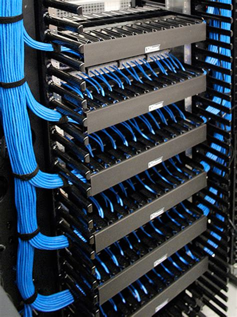 Networking Rack by Network Cabling Computer Networking Network