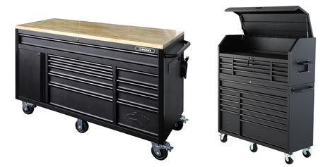 tool chest and rolling cabinet the husky tool chest rolling cabinet workbench