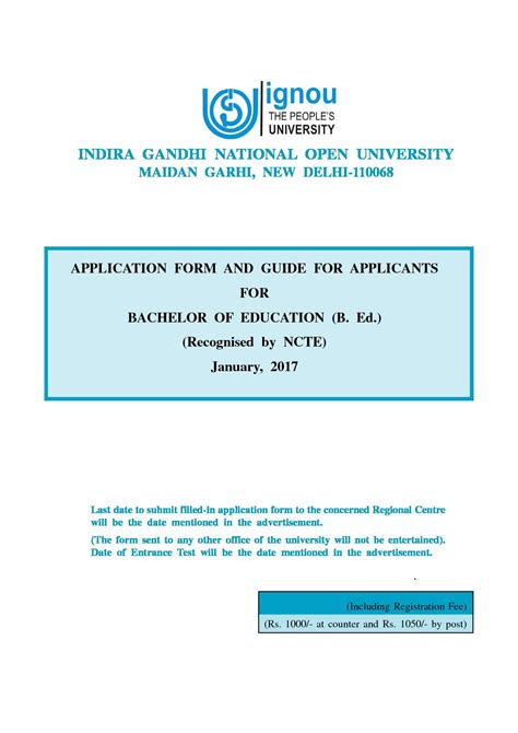 Ignou Mba Brochure 2017 by Ignou Delhi Fees Courses Admission Placements 2018 2019
