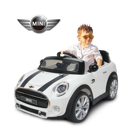 voiture pour 3 si鑒es auto homcom bmw mini hatch voiture v 233 hicule 201 lectrique pour