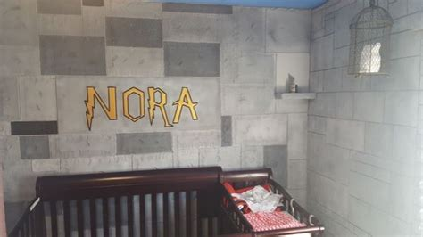 Harry Potter Inspired Nursery In Harry Potter Themed Nursery Thechive