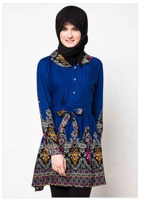 Baju Kerja Guru 10 model baju batik kerja guru muslimah paling trend