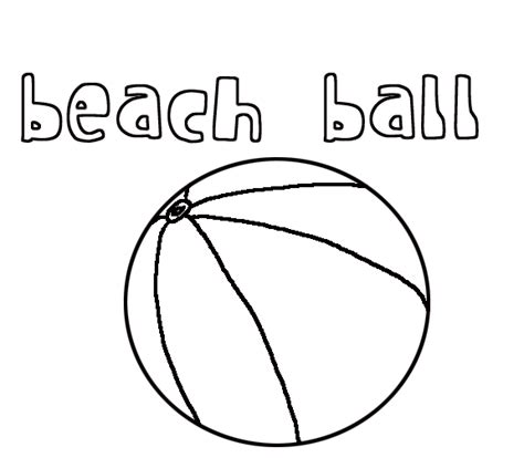 beach ball coloring pages free color on pages coloring
