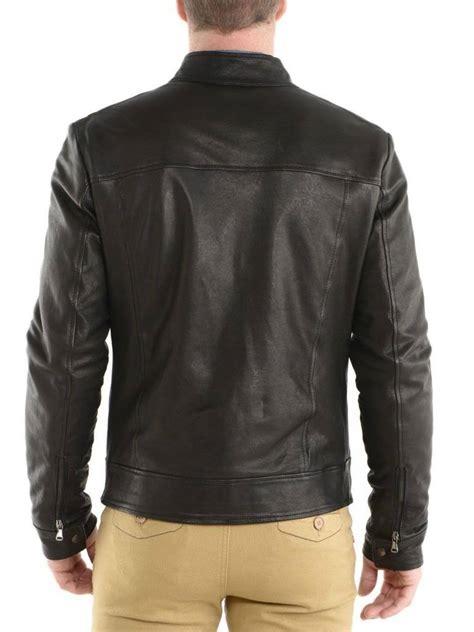 handmade mens fashion leather jacket leather jacket