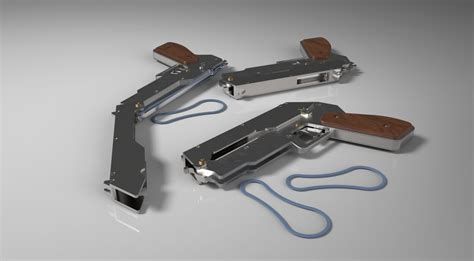 solidworks tutorial gun rubber band gun solidworks step iges 3d cad model