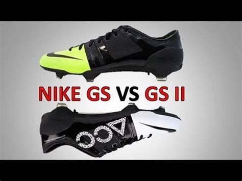 Nike Gs Acc Putih Hitam nike gs 1 vs nike gs 2 acc comparison