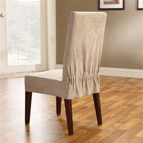 Diy Dining Chair Slipcovers Dining Room Chair Slipcovers Diy Pinterest