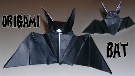 How To Make Bat With Paper - make some cool origami bats for technabob