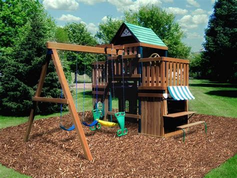 backyard playset plans childrens outdoor playset plans backyard playset