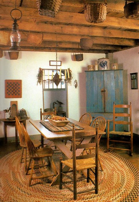 best 25 primitive dining rooms ideas on fox