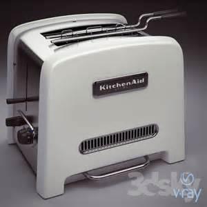 Artisan Toaster 3d Models Household Appliance Kitchenaid Artisan Toaster