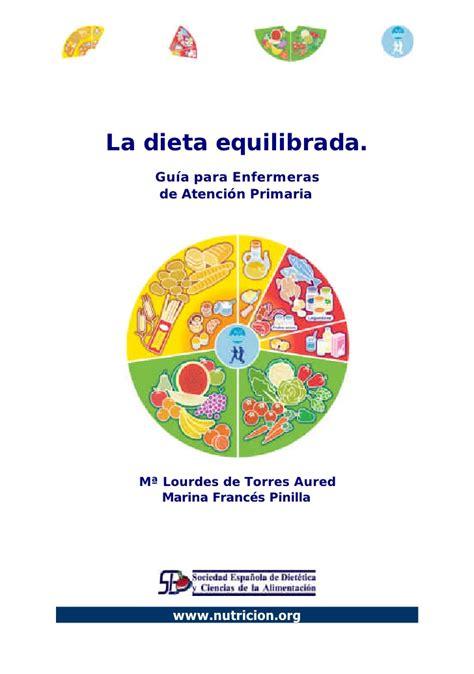 la dieta de la 8416449554 alimentacion balanceadas pdf