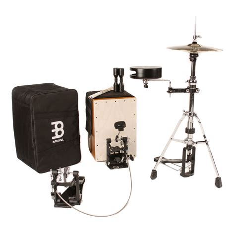 Per Set Pedal Drum meinl cajon drum set package with free bag multi rods