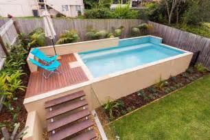Backyard Swimming Pools Above Ground Backyard Small Above Ground Swimming Pool Swimming Pools Backyard And Eye