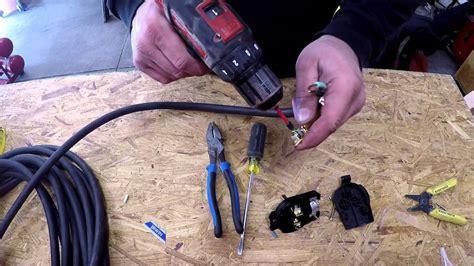 wiring  nema  p plug   everlast welder youtube