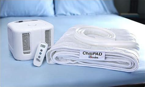 bed cooler chilipad cube king dual zone heating cooling