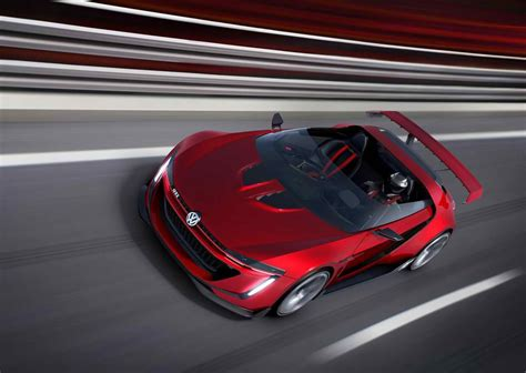 volkswagen supercar 2014 volkswagen gti roadster concept review pictures 0