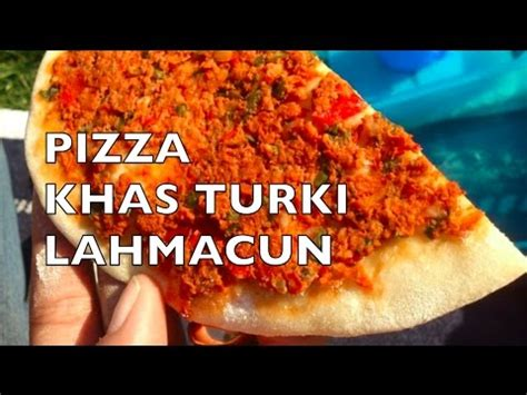 cara membuat pizza jagung manis how to make turkish pizza lahmacun cara membuat pizza