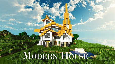 fancy minecraft houses minecraft fancy modern house download youtube