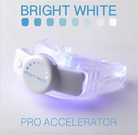 brightwhite smile teeth whitening light bright white smiles teeth whitening accelerator 5 led