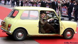 mr bean new car atkinson cashes in with mr bean with daily mail