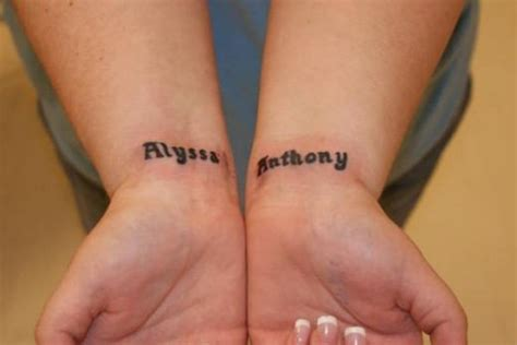 stylish wrist tattoos 35 stunning name wrist designs