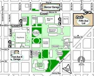 Seattle Center Map by Connect At The Center Transportation Bringing Your