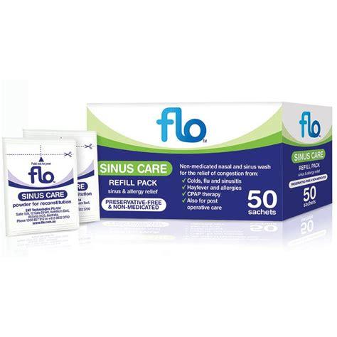 Sinus Care buy flo sinus care refill 50 sachets at chemist warehouse 174