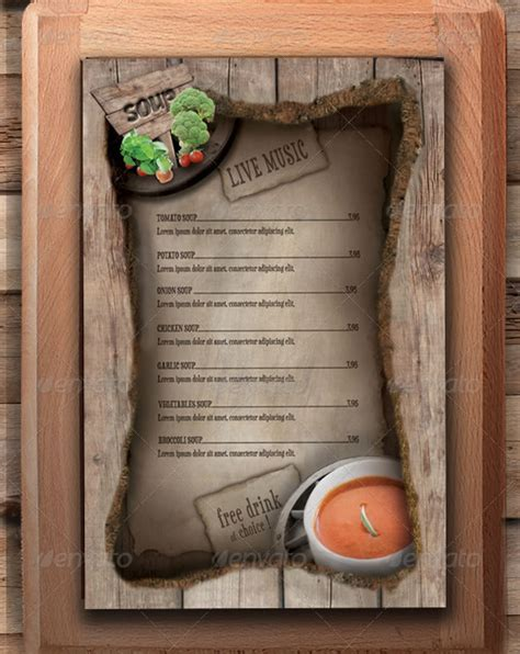 menu design ideas template watering restaurant menu designs entheos