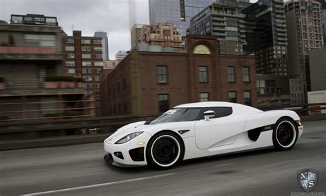 koenigsegg ccx white matte white wrap custom hre wheels detailing and tint on