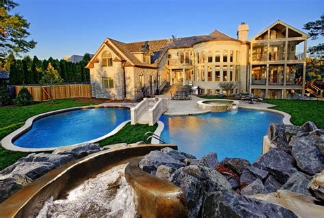 houzz tv show northbrook il freeform pool spa grotto as featured on