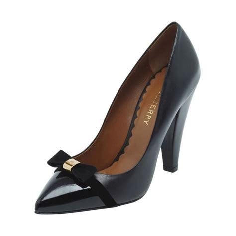 Bow High Heel Pumps 1000 images about black patent pumps court shoes on