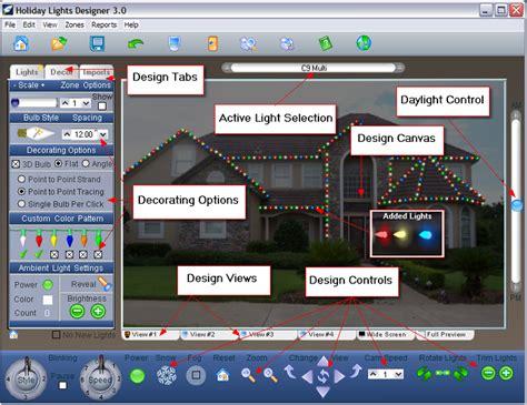 christmas light programmer lights designer at screen savers desktop of directory of shareware