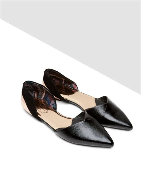 ted baker flat shoes saeber ted baker flat shoes flats and leather