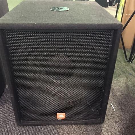 Speaker 15 Inch Merk Jbl jbl jrx 118sp 500w powered subwoofer reverb