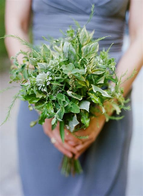 Inexpensive Bridesmaid Bouquets by 25 Best Ideas About Herb Bouquet On Greenery
