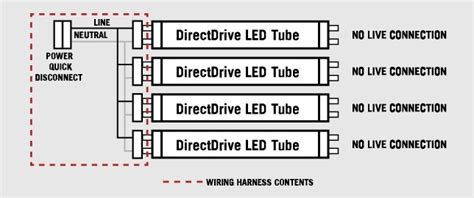 lamp wiring harness  led  tubes tall socket  keystone