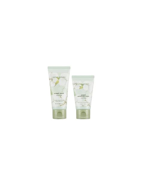 Nature Republic Cotton Armpit Kit by Nature Republic Cotton Armpit Kit 130ml
