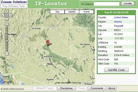 Ip Address Lookup Map Ip Lookup Map Map3
