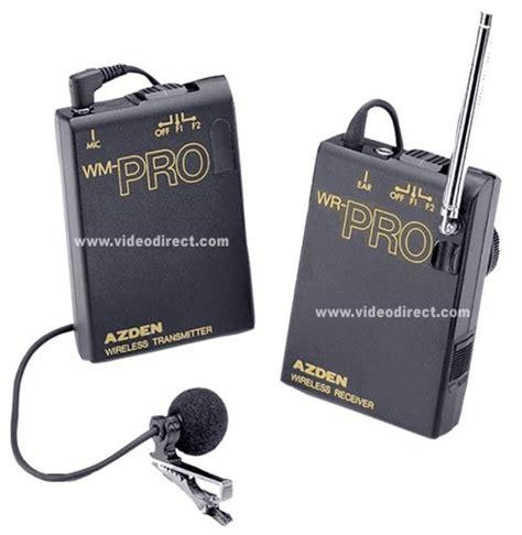 Azden Wlx Pro Vhf Wireless Lavalier Microphone System Azden Wlx Pro Wlxpro Wireless Microphone System