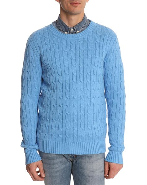 Sweater Black Blue blue sweater mens sweater tunic