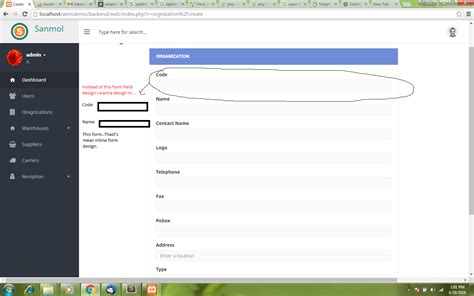 Form Layout In Yii2 | twitter bootstrap how to inline form design yii2