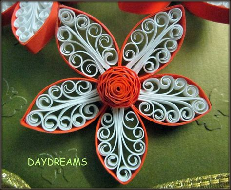 How To Make Quilled Paper Flowers - daydreams august 2011