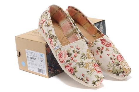 shabby chic floral toms for sale looking for genuine toms shoes outlet