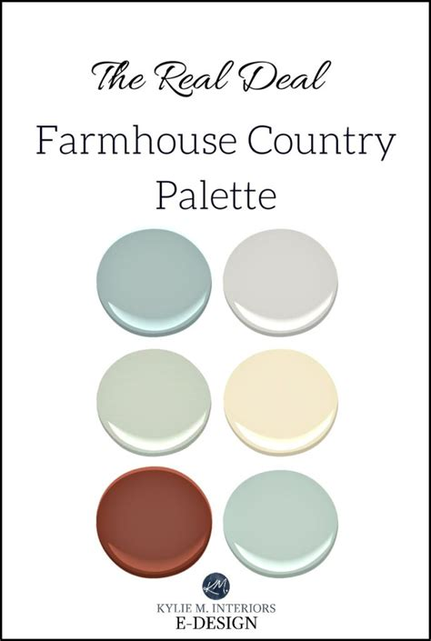 paint colors for farmhouse interior the best rustic farmhouse paint colours benjamin