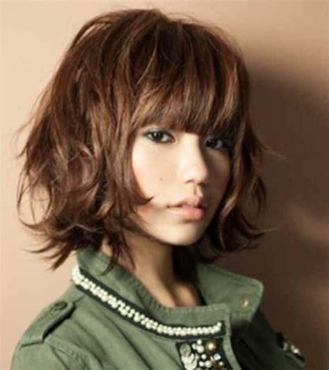 Hairstyles With Bangs For Thick Hair by 2018 Haircuts For Thick Hair With Bangs
